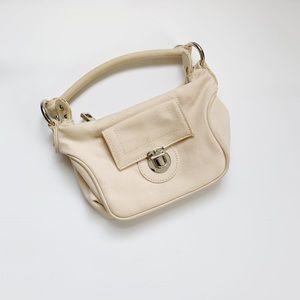 Marc Jacobs Mini Purse Canvas Small Peach Nude